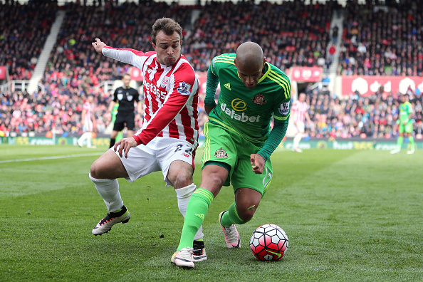 Shaqiri in action for Stoke City. Photo: Getty Images