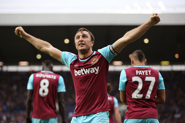 Mark Noble scored twice when the sides last met. | Image credit: Getty Images