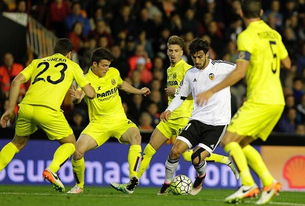 Valencia esbarra no ferrolho amarelo e não consegue marcar (Foto: Getty Images)