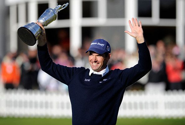 Padraig Harrington was the last man to retain the claret jug in 2008 (photo:getty)