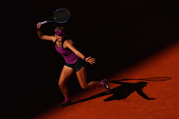 Azarenka cruising comfortably | Photo: Julian Finney/Getty Images