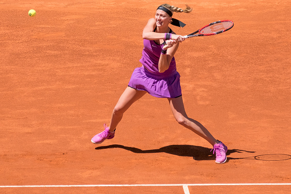 Kvitova will be looking for a good result in Rome to secure her top 10 ranking. Photo credit: Gonzalez Fuentes Oscar/Getty Images.