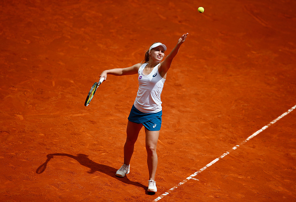 Gavrilova needed just one break of serve in both sets to sail to victory. Photo credit: Julian Finney/Getty Images.