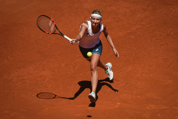 Bacsinszky was fighting in the set but let her effort go to waste | Photo Pedro Armestre/Getty Images