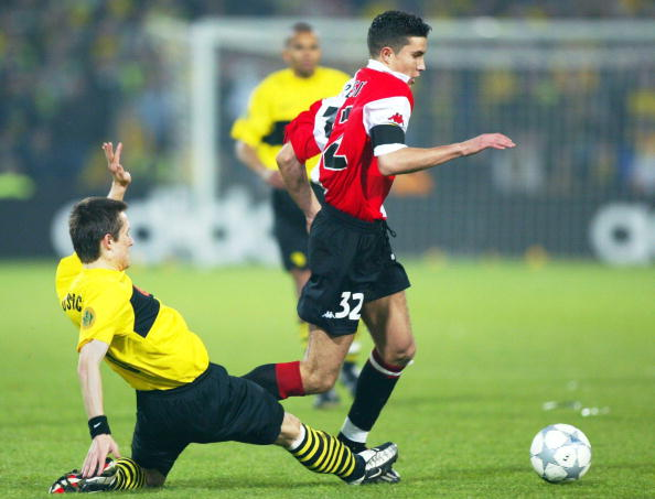 van Persie's performances for Feyenoord as a youngster caught the eye of Arsene Wenger (photo:getty)