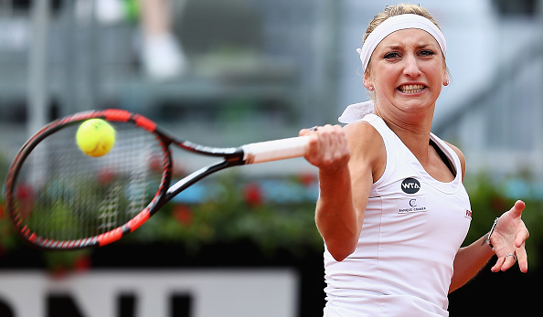 Bacsinszky starts strong | Photo: Matthew Lewis/Getty Images