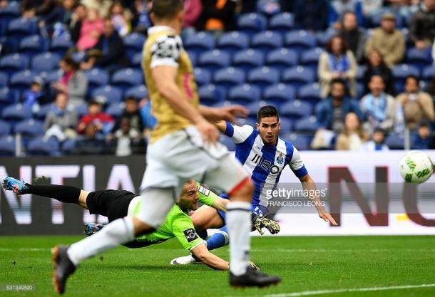 André Silva marcou o 1º golo na equipa principal