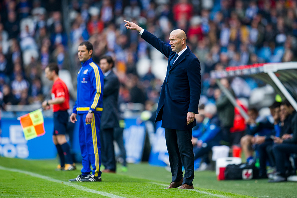 Zidane terminou seu primeiro Campeonato na vice-liderança (Foto: Getty Images)