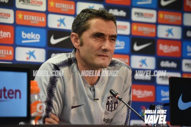 El técnico azulgrana cumplirá su partido 100 como entrenador del Barça / Foto: Noelia Déniz (VAVEL.com)