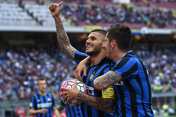 Icardi has notched 47 goals for Inter since joining in 2013 (photo:getty)