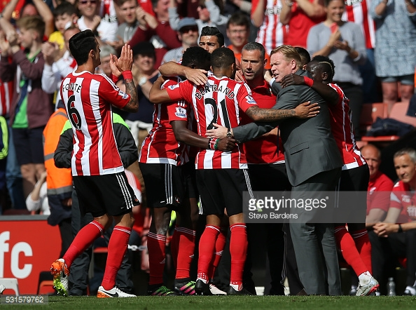 Koeman made Southampton into a force to be reckoned with. Photo: Getty