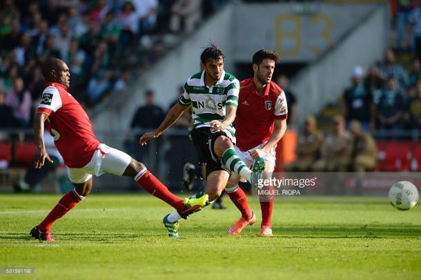 Ruiz fez o bis em Braga
