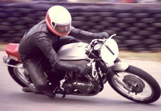 My Dad on his Norton 650ss - always number one in my eyes!