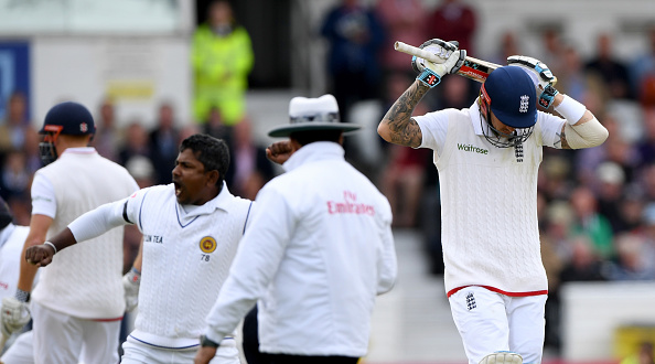 Hales rues his dismissal on 86 (photo:getty)