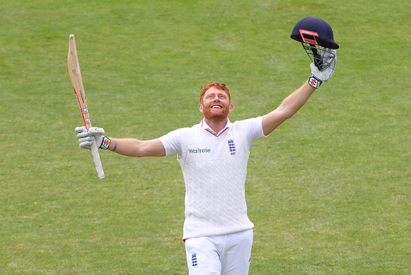 Bairstow revels in his ton (photo:getty)