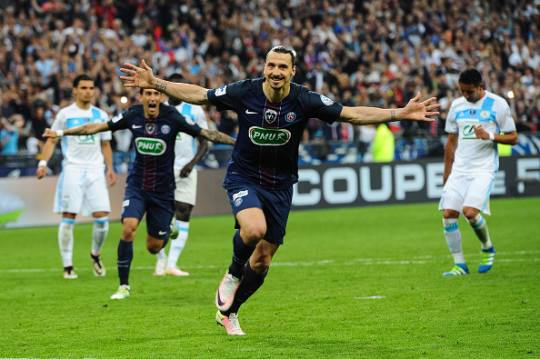 Ibrahimovic has scored over 100 goals for PSG (photo:getty)