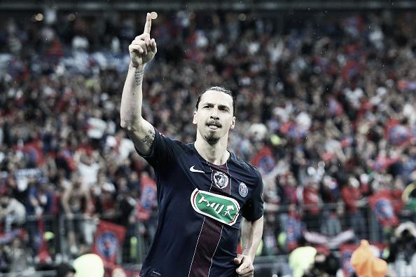 Ibrahimovic marcou época no futebol francês com a camisa do PSG (Foto: Getty Images)