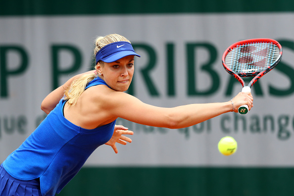 Lisicki in control as she takes the first set | Photo: Julian Finney/Getty Images