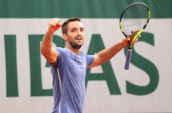 (Viktor Troicki, the 22nd seed form Serbia, advances to the third round of the 2016 French Open with a (4)6-7 6-3 6-3 (Ret) win over his compatriot Dusan Lajovic (Photo: Ian MacNicol;Getty