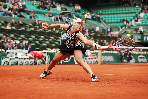 After obtaining mixed results on the clay, Kerber turns her attention to grass. Photo credit: Ian MacNicol/Getty Images.