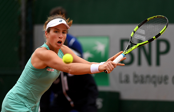 Konta laboured on the Paris clay at Roland Garros (photo:getty)