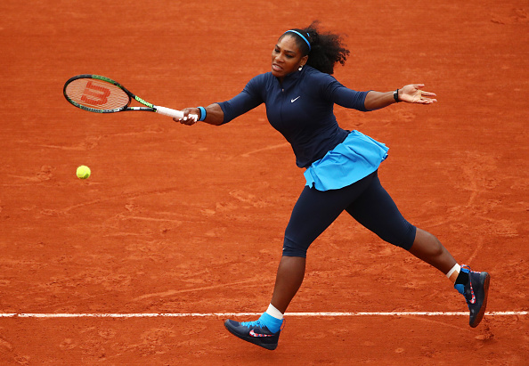 Serena Williams em ação/ Foto: Clive Brunskill/ Getty Images
