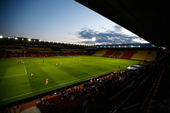 Watford's Vicarage Road has been the venue for several of the Lady Hornets' games in recent times. Will we see more of this around the country in a winter season? (Photo: Christopher Lee - The FA/The FA via Getty Images)