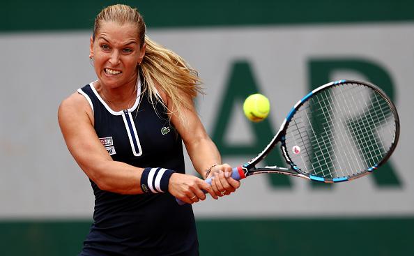 Dominika Cibulkova started strong, winning the first set against Ana Konjuh/Julian Finney/Getty Images