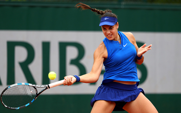 Konjuh won the second set to force a deciding third set/Julian Finney/Getty Images
