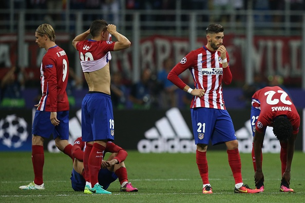 Atletico Madrid players | Photo: VI Images/Getty Images Sport