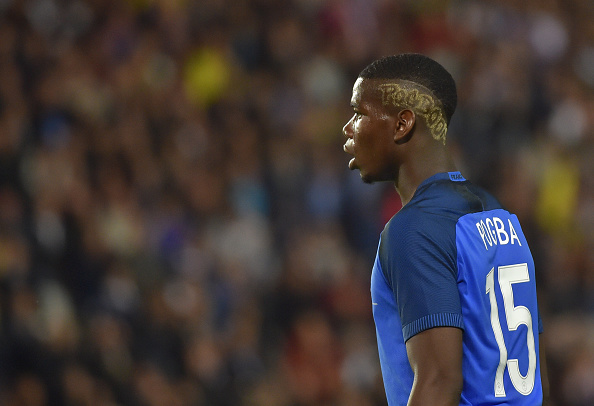 Jean-Luca tipped Pogba to be the tournament's breakout star | Photo: Loic Venance/AFP/Getty Images