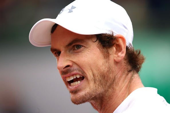 Murray fought back to level the match at one set all (photo:getty)