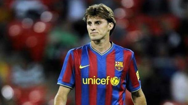 Henrique en un partido de Copa del Rey con el FC Barcelona I Foto laliga.com
