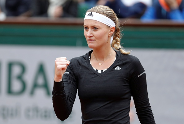 Mladenovic edges for the first time in the set | Photo: Thomas Samson/Getty Images