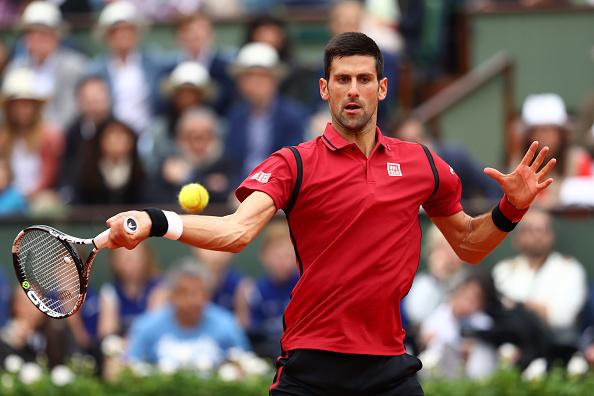 Djokovic em ação/ Foto: Julian Finney/ Getty Images