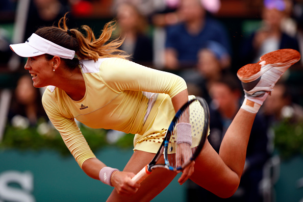 Muguruza needs her A-game to come out of the quarter | Photo: Mehdi Taamallah/Getty Images