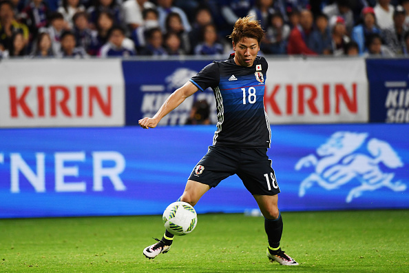 Asano during a Japan friendly | Photo: Kaz Photography