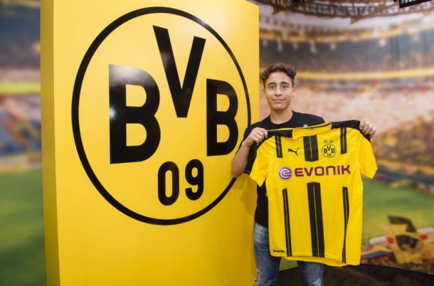 Emre Mor has recently signed for Borussia Dortmund (Photo: Getty Images)