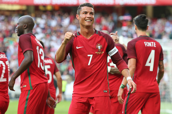 Cristiano Ronaldo leads Group F's favourites, Portugal. (Photo: Gualter Fatia/Getty Images)