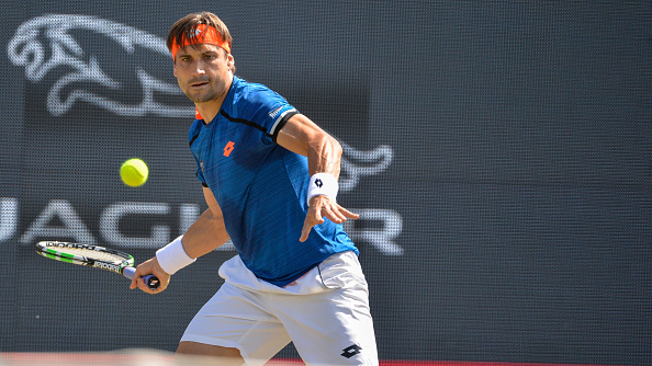 David Ferrer in action at s-Hertogenbosch (Photo: NurPhoto)