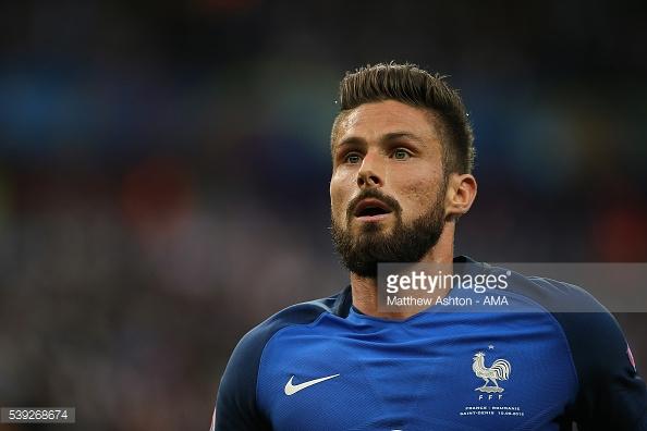 Giroud não teve nos seus melhores dias na meia-final, mas tem tido uma boa prestação no Euro