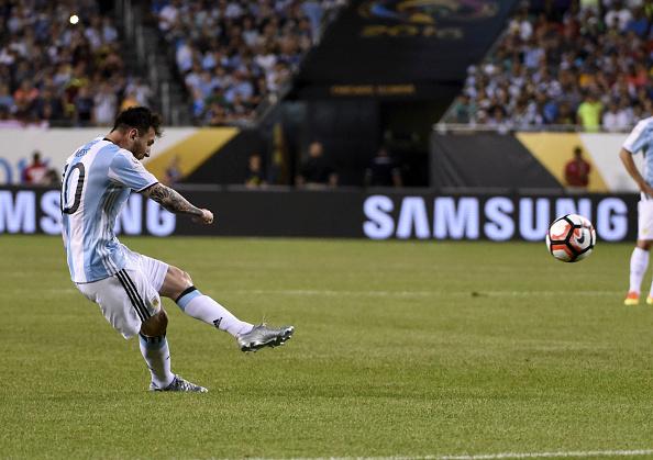 Leo Messi hizo tres goles en la victoria de Argentina frente a Panamá | Getty Images
