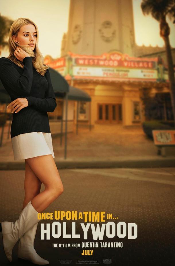 Póster de la nueva película de Tarantino | Foto: Facebook