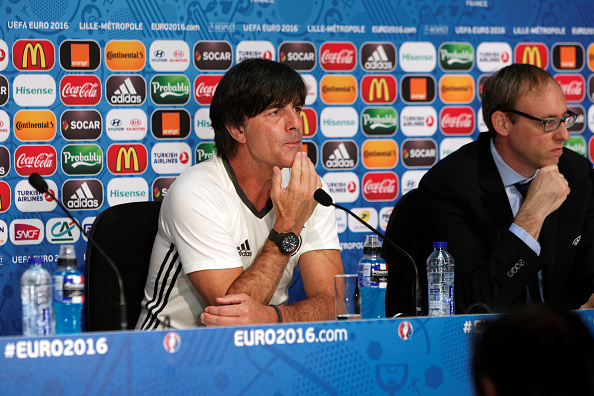 Löw knows that a win will not be easy tomorrow. (Photo: Handout/UEFA via Getty Images)