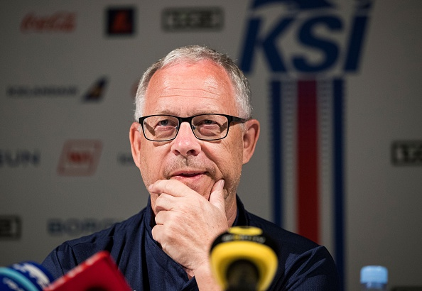 Lars Lagerbäck oozed confidence in his pre-match presser. (Photo: ODD ANDERSEN/AFP/Getty Images)