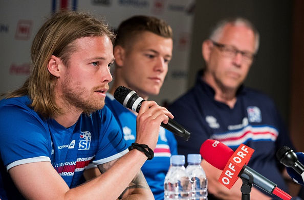 Bjarnason believes this crop of players can achieve something big. (Photo: ODD ANDERSEN/AFP/Getty Images)