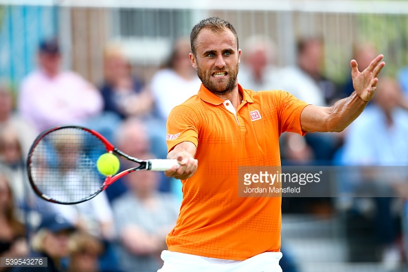 Copil featured at the Aegon Surbiton tournament earlier this year. (picture: Getty Images / Jordan Mansfield