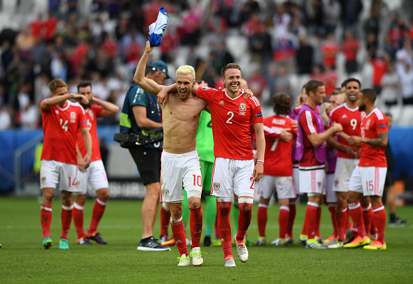 Wales couldn't have wished for a better start as they defeated Slovakia 2-1 | Photo: Stu Forster/Getty Images