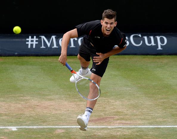Thiem battled back to force a third set/Photo Source: Daniel Kopatsch/Getty Images