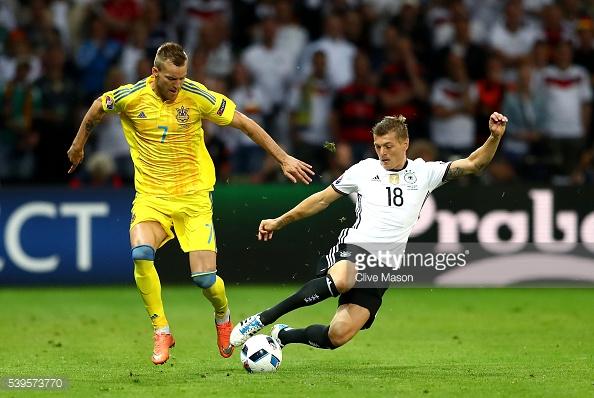 Kroos fue la gran figura alemana en el centro del campo. // (Foto de Getty Images)